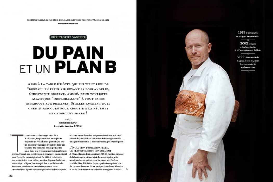 Christophe Vasseur : Du pain, dessinées et une bonne dose de pugnacité