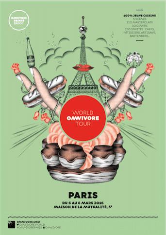 Omnivore se pose à Paris du 6 au 8 mars 2016