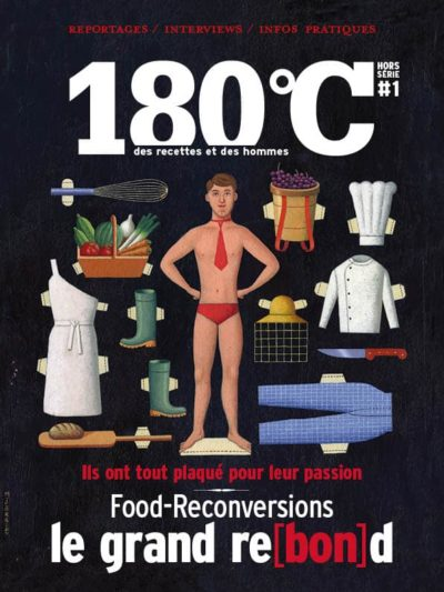180°C HS n°1 Food reconversions