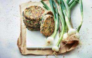 Galettes d'oignons, soja et pommes de terre pas trop compliquées…