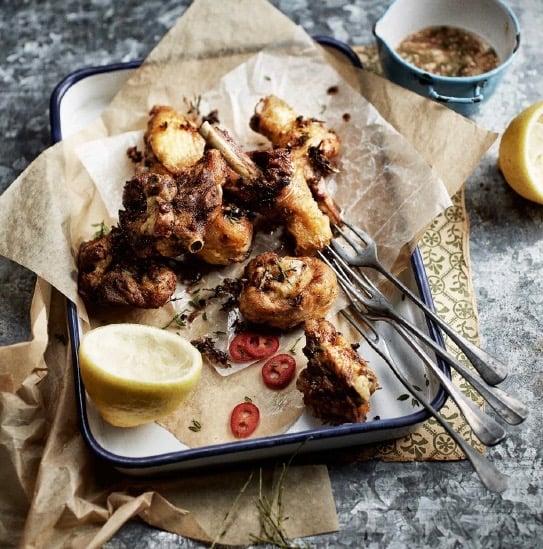 poulet-marine-frit