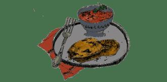 grillade-de-porc-panees-et-slata-mechouia-recette-gazette-180c