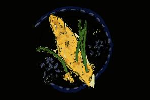 filets-de-merlan-panes-et-asperges-a-la-ciboulette