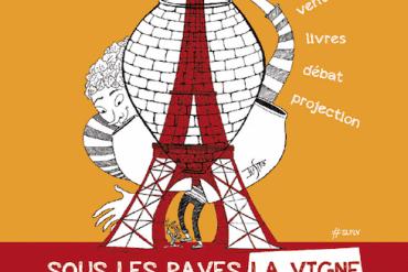 Sous les pavés (de Paris)... La vigne 10