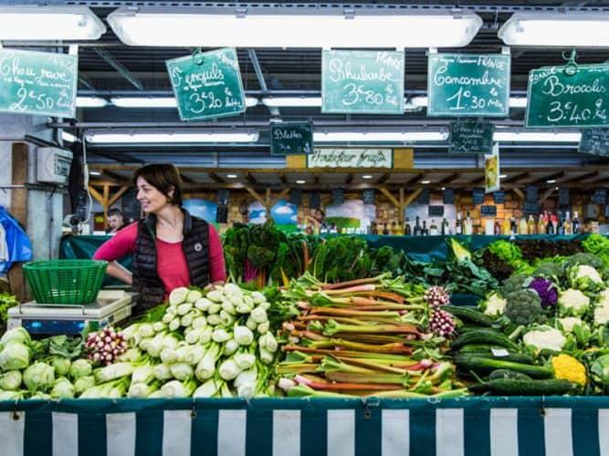 Des légumes de saison, parce que chez les Riant, on vend en fonction de ce que Dame nature propose - © 180°C - Éric Fénot