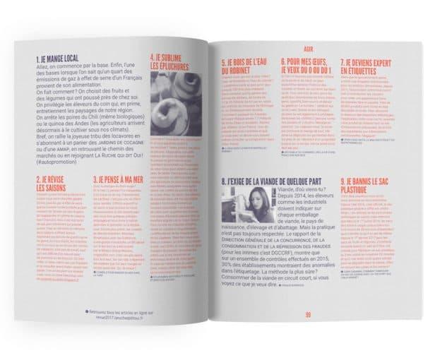 Agir, avec les 30 conseils que la revue donne pour changer sa manière de consommer - © La Ruche qui dit Oui !