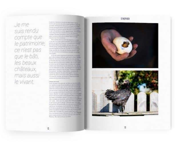 S'inspirer, en découvrant notamment l'histoire iconoclaste et vertueuse d'un éleveur de volailles rares - © La Ruche qui dit Oui !