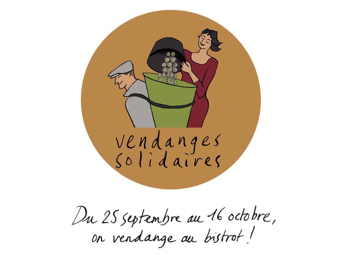 Les vendanges solidaires,<br>du 25 septembre au 16 octobre !