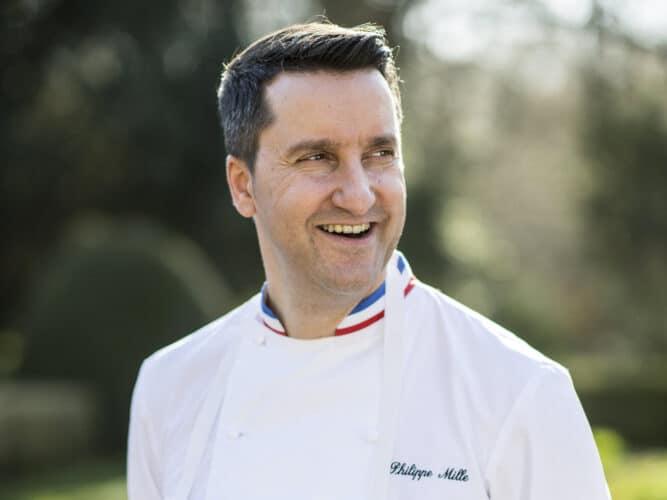 Le chef doublement étoilé, Philippe Mille - © Anne-Emmanuelle Thion