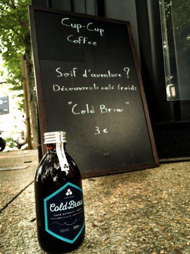 Cold brew, un café froid qui se déguste presque comme un whisky ! -  180°C - Photographie olivier Pascuito