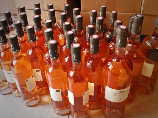 Le rosé, principale production du domaine - © 180°C