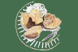 Boulettes de boulgour aux petits pois et crème à la menthe