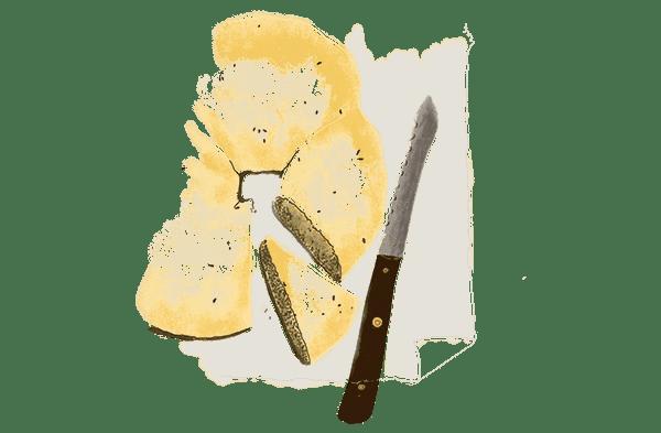 Brioche à l'anis et fleur d'oranger