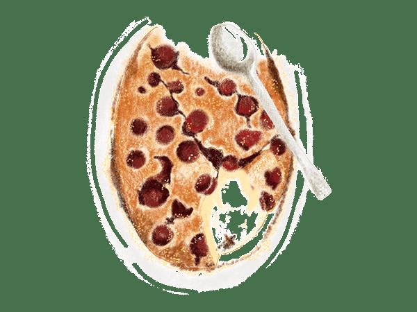 Clafoutis clafoutant 1