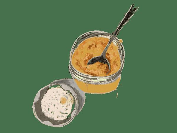Crème d'abricot