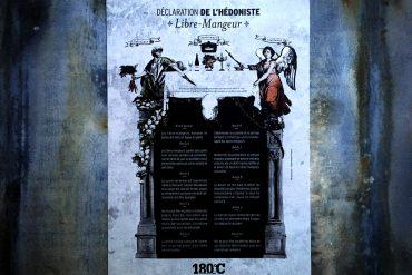 Déclaration de l'hédoniste Libre-Mangeur 10