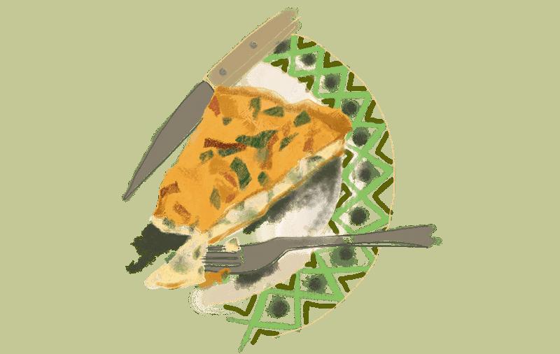 Flamiche aux poireaux