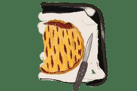 Pancakes à la pomme et sirop d'érable 3