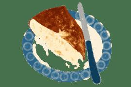 Gâteau brioché à l'eau de fleur d'oranger