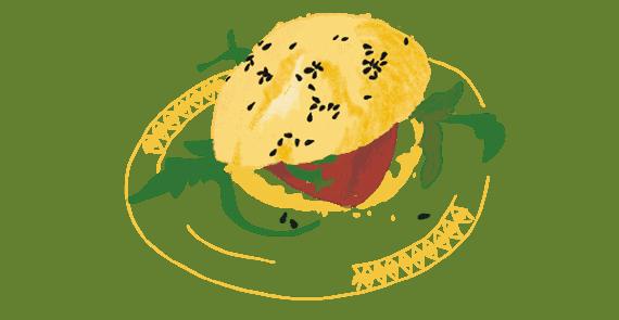 Minis sandwichs pour buffet chic 9