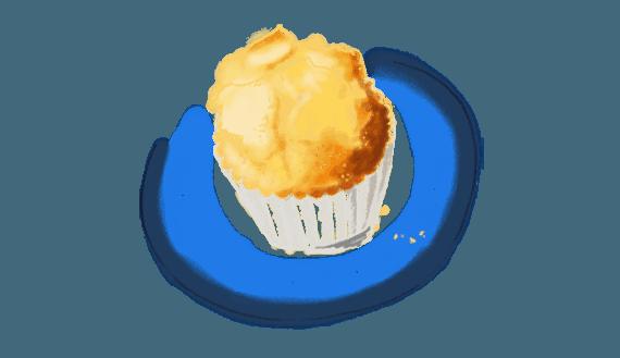 Madeleines ou muffins au citron vert 2
