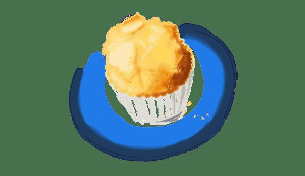 Madeleines ou muffins au citron vert 1