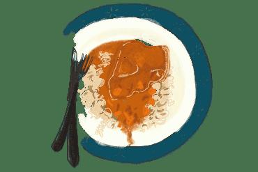 Os troués à la sauce tomate