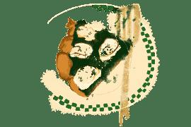 Pizza verte aux épinards et chèvre frais 4