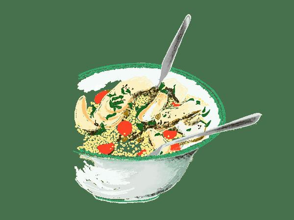 Salade de millet 1