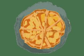 Tartelettes aux poires et gelée de coing