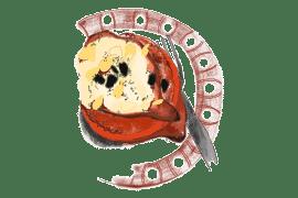 Tomates rôties au chèvre 3