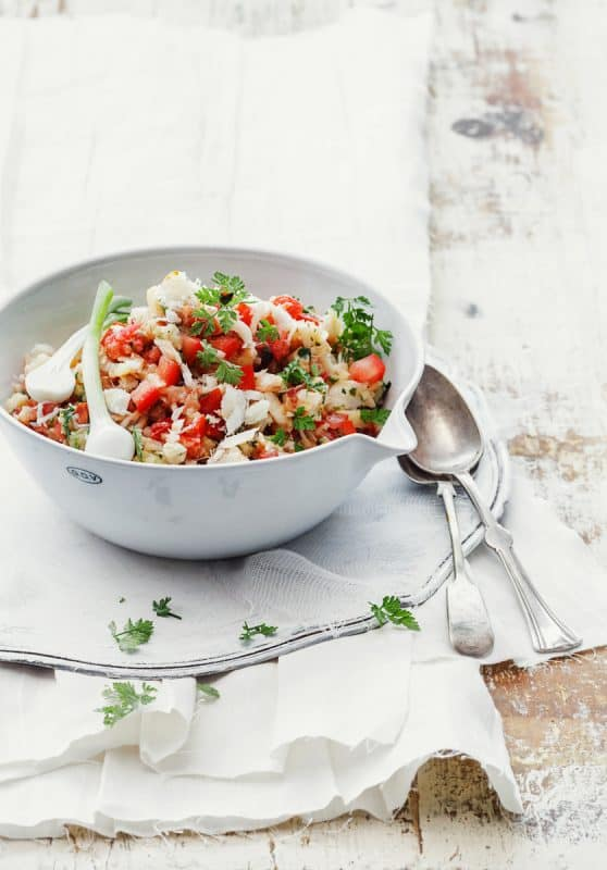 Féroce de morue aux tomates 1