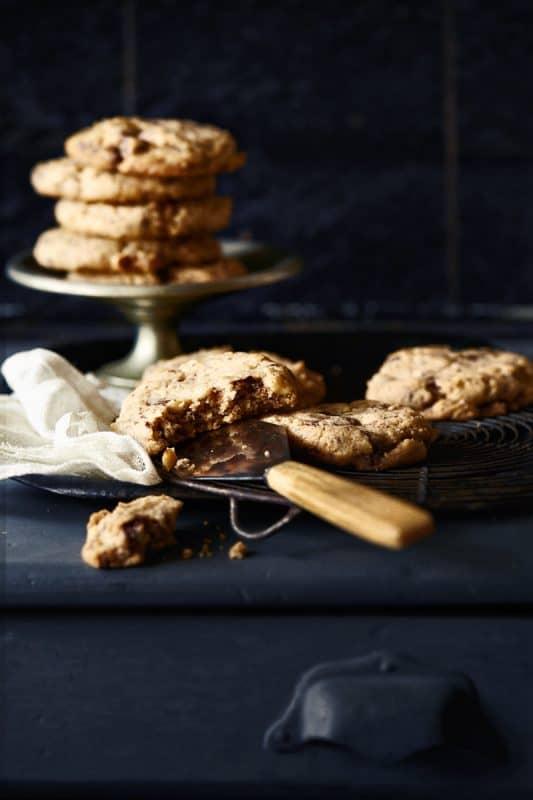 Cookies noisettes et pépites de chocolat 1