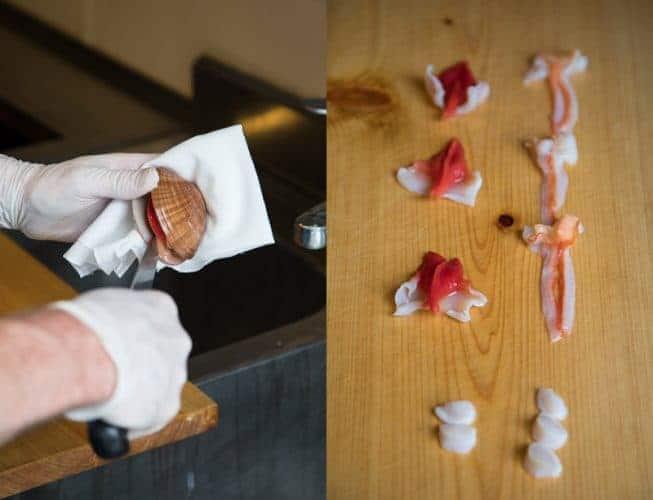 La découpe du vernis - crête, barbe et noix -© 180°C - Camille Oger