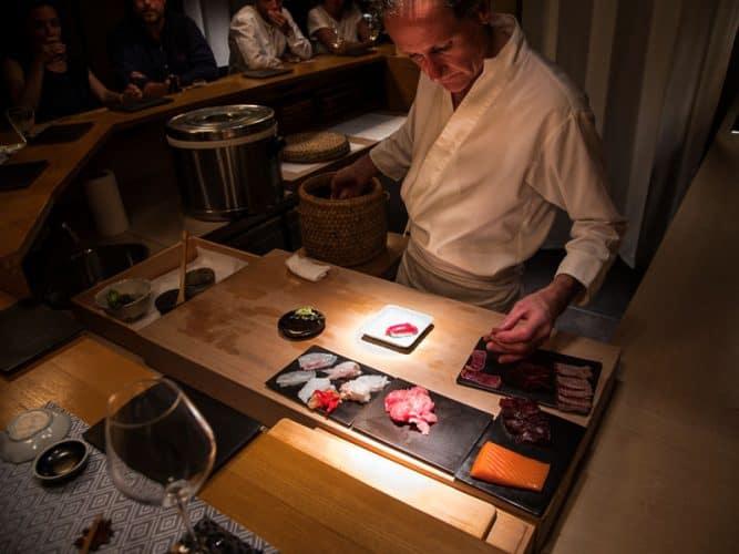 Service au restaurant Hinoki - © 180°C - Camille Oger