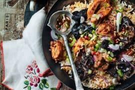poulet au riz exotique