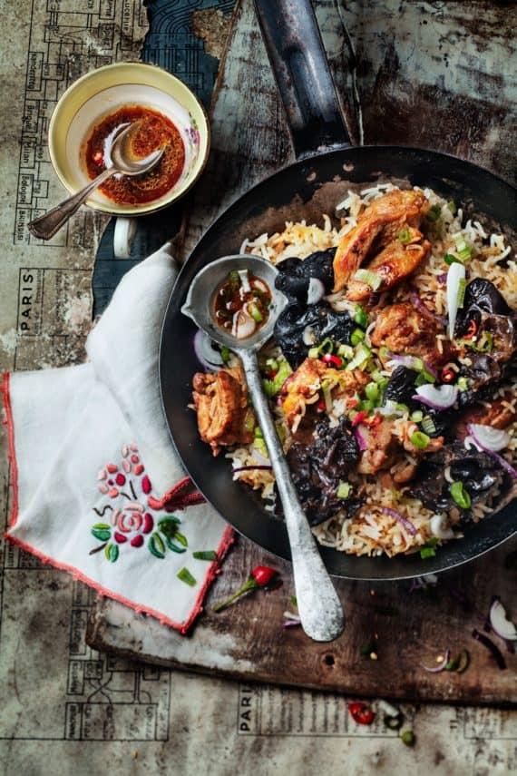 poulet au riz exotique 11