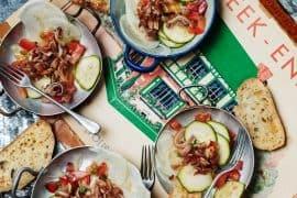 salade d'oreilles de cochon sautées 2