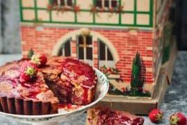 Gâteau aux fraises 3