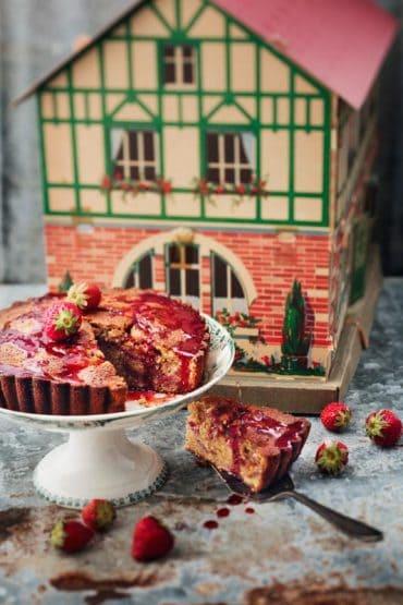Gâteau aux fraises 4