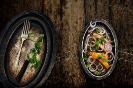 Salade tiède de lentilles au haddock 2