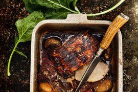 Rôti de porc et chou-rave caramélisé 4