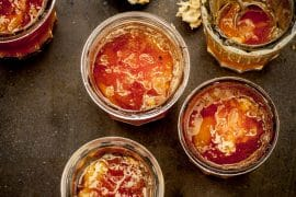 Confiture de poires à la fève tonka