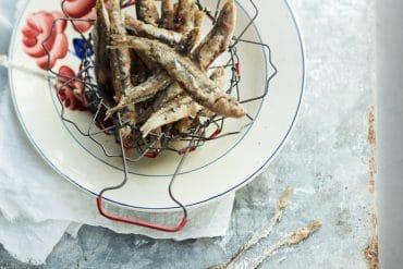 Des anchois frits<br>et rien de plus