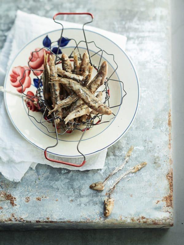 Des anchois frits<br>et rien de plus 1