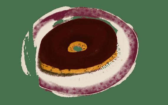 Anneaux tigrés au chocolat 6