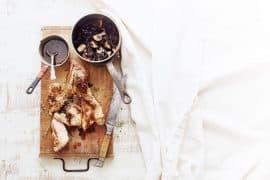 Côtes de veau aux champignons