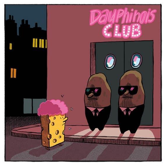 Gratin Dauphinois avec<br>ou sans barbe à papa ? 14