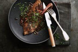 Foie de veau avec pas grand-chose
