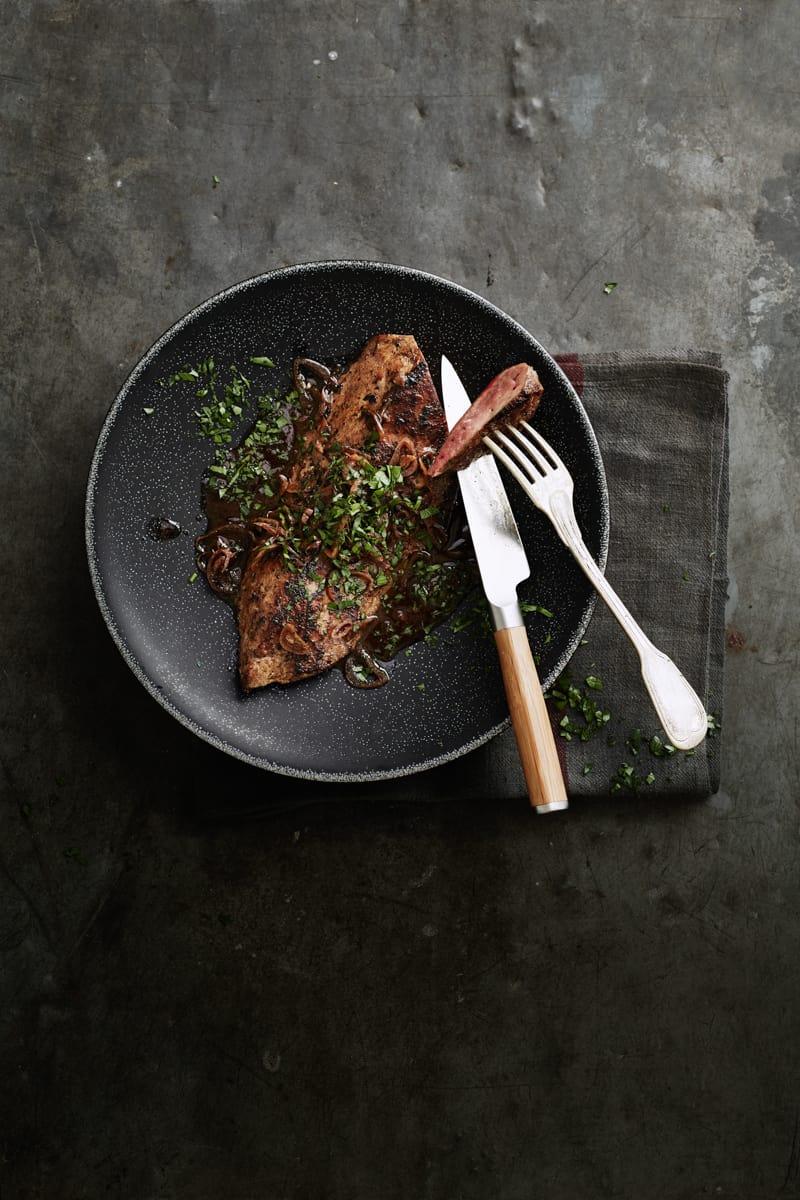 Foie de veau avec pas grand-chose 1